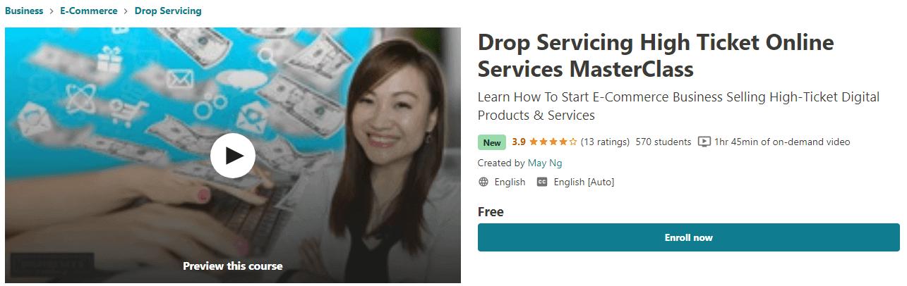 Drop Servicing High Ticket Online Services MasterClass