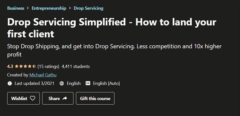 Drop Servicing Simplified