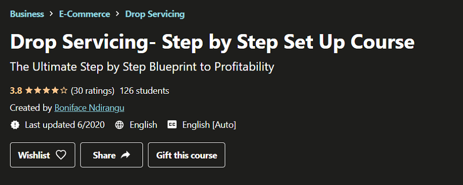 Drop Servicing - Step by Step Course