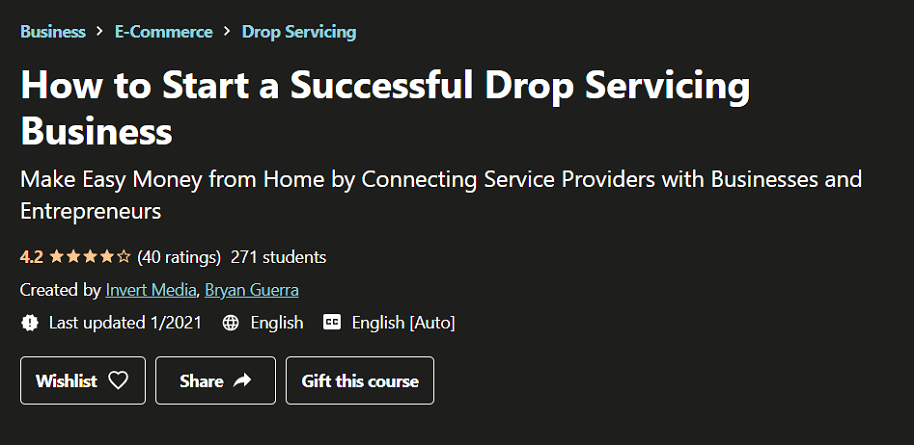 How to Start a Successful Drop Servicing Business